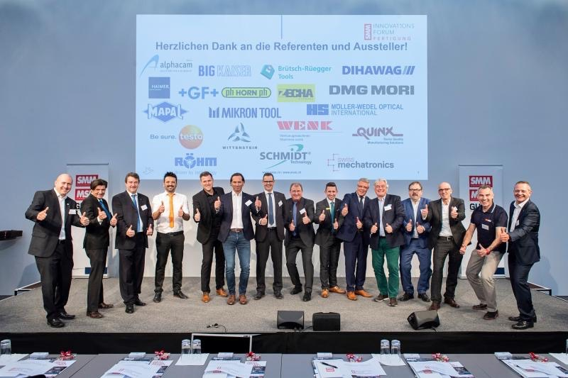Successful 3rd SMM InnovationsFORUM Fertigungstechnik on November 19, 2019